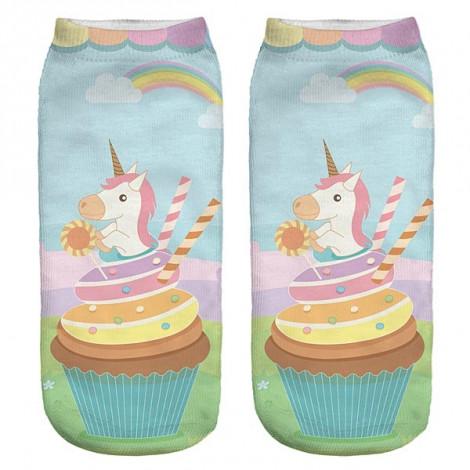 Trainer Socks - Unicorn/Muffin
