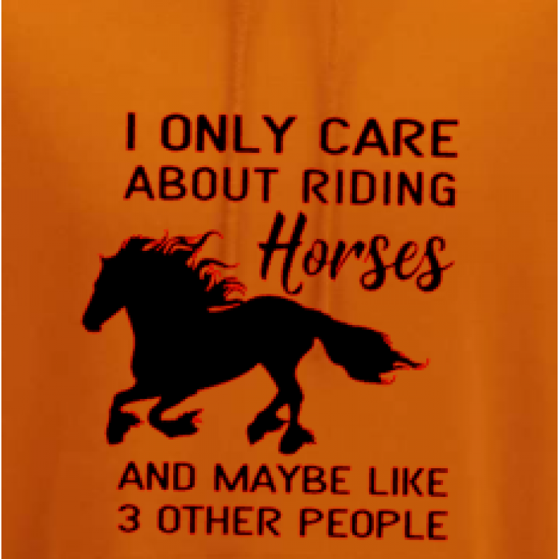 I Only Care About Riding....