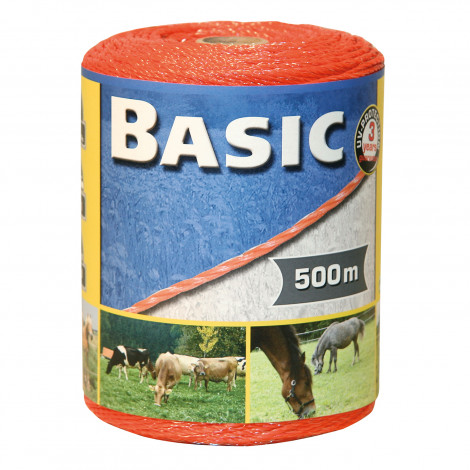 Basic Fencing Polywire 500m