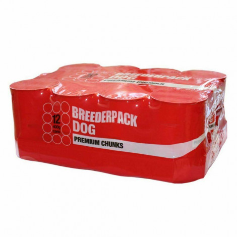Breederpack Dog Premium Chunks (400g) (Pack of 12)