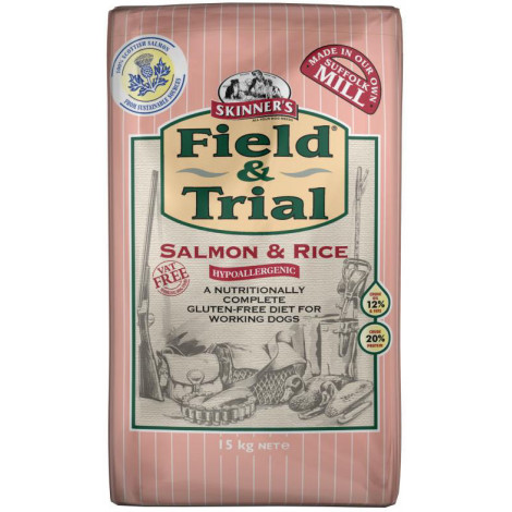 Skinners F&T Salmon & Rice Hypo 15kg