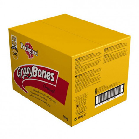 Pedigree Gravy Bones Biscrock Original 10kg Dog Treats