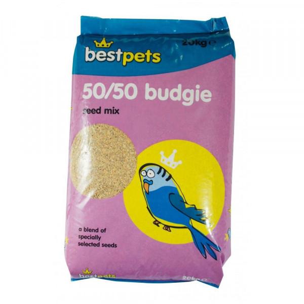 Bestpets 50/50 Budgie Mix...