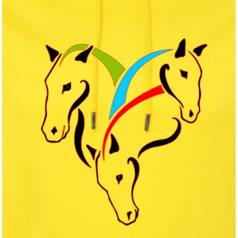 3 Horses Hoodie