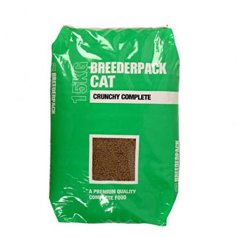 Breederpack Crunchy Complete Cat Food 15kg